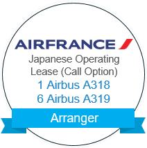 Air France Japanese Operating Lease (Call Option) A318 A319 Arranger