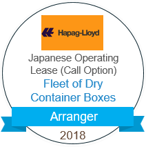 Hapag-Lloyd Fleet Dry Container Boxes Arranger 2018