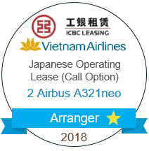 ICBC Leasing Vietnam Airlines A321 neo Arranger 2018