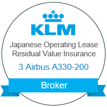 KLM Residual Value Insurance 3 Airbus A330-200 Insurance Broker